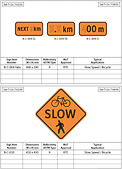 British Columbia Construction Signs